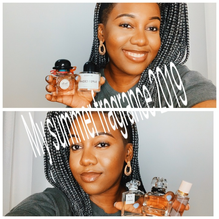 My top 20 summer fragrance2019